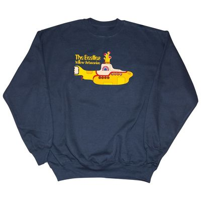 The Beatles: Yellow Submarine Sweatshirt Navy