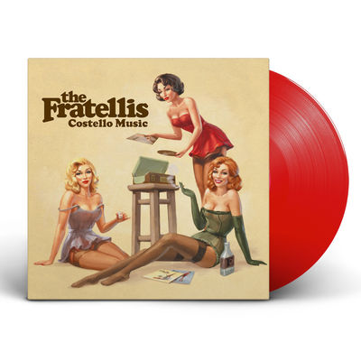 The Fratellis: Costello Music: Exclusive Red Coloured Vinyl