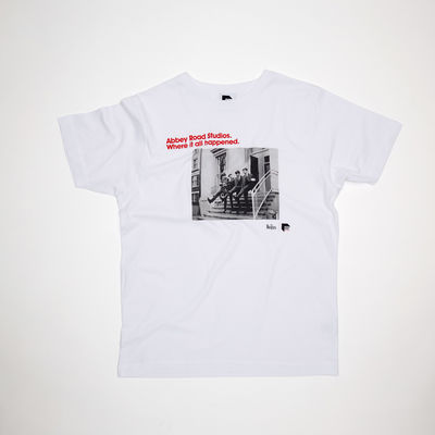 Abbey Road Studios: The Beatles Abbey Road Studios Steps - Where It All Happened T-shirt