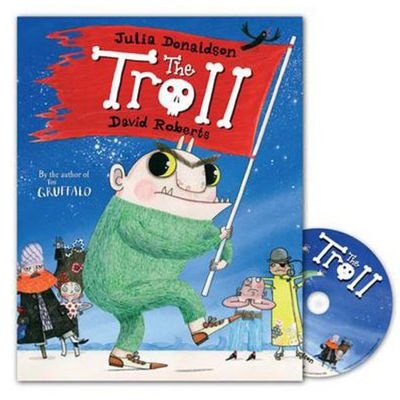 Julia Donaldson: The Troll (Paperback and CD)