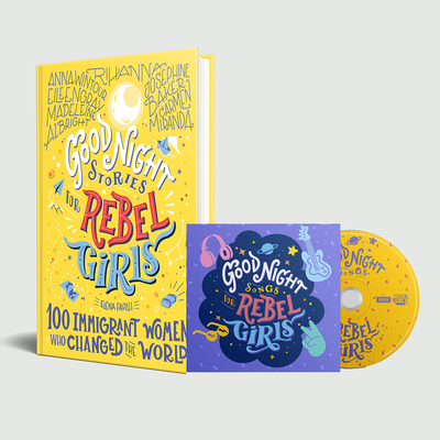 Rebel Girls: Goodnight Songs For Rebel Girls CD & book bundle