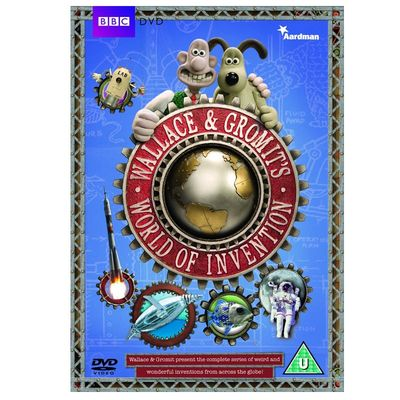 Wallace & Gromit: World Of Inventions DVD