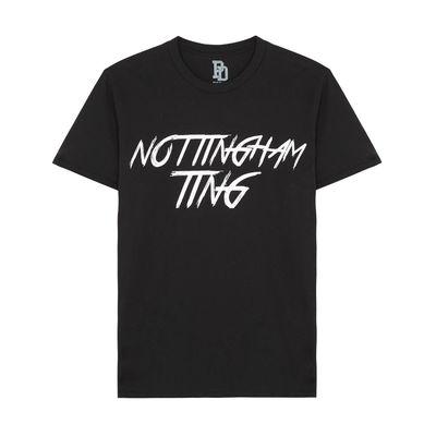I Play Dirty: Nottingham Ting Black T-shirt