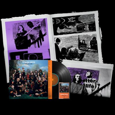 Spring King: A Better Life: Signed Vinyl, Signed Cassette & Zine