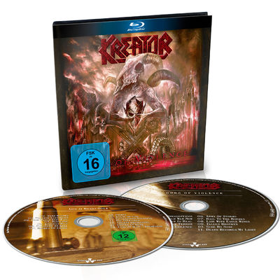 Kreator: Gods Of Violence: Ltd. Edition Digibook + Signed Insert
