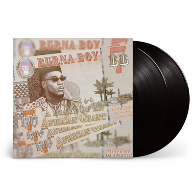 Burna Boy: African Giant: Black Vinyl 2LP