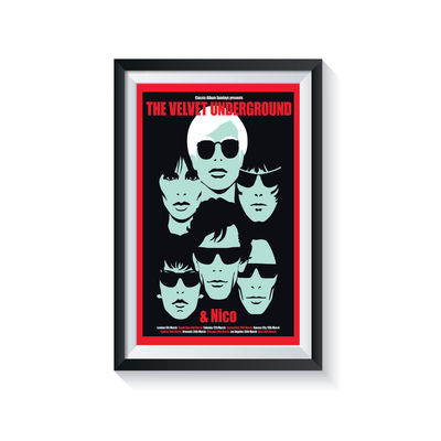 Carl Glover: The Velvet Underground & Nico: Classic Album Sundays Screen Print
