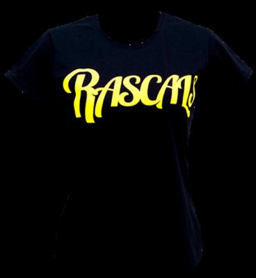 Rascals: Womens Rascals Black Logo Class 90 T-Shirt