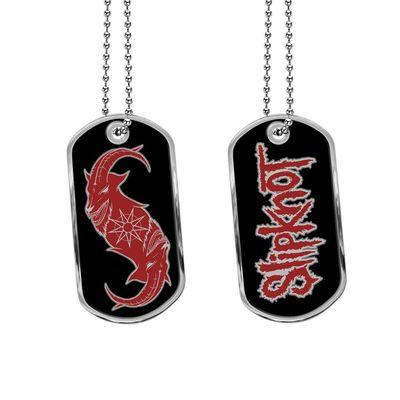 Slipknot: Goat Star Dog Tag Necklace