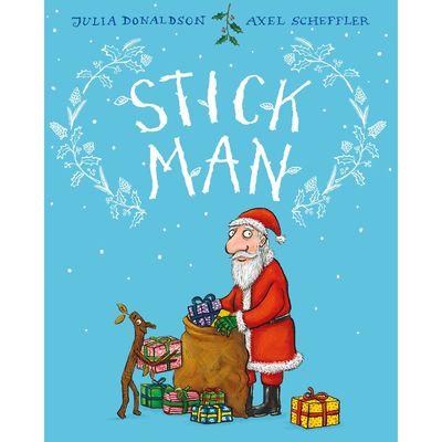 Donaldson and Scheffler: Stick Man Gift Edition (Hardback)