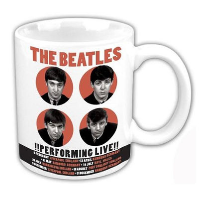 The Beatles: The Beatles 1962 '!Performing Live!' Boxed Mug