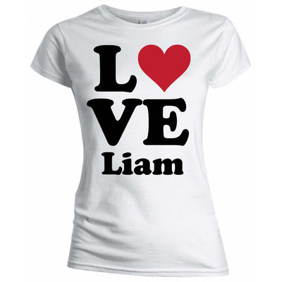 One Direction: One Direction I Love Liam Skinny T-Shirt