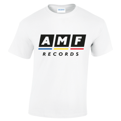 AMF Records: White AMF T-Shirt