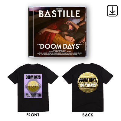 Bastille: Doom Days CD, Digital and Black Tee Bundle
