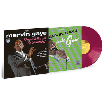 Marvin Gaye: I Heard It Through The Grapevine!: Exclusive Grape Vinyl