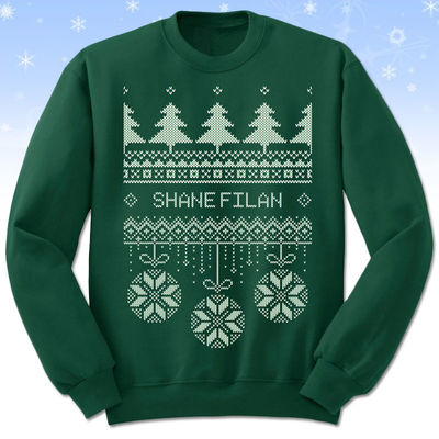 Shane Filan: Shane Filan Official Christmas Sweater