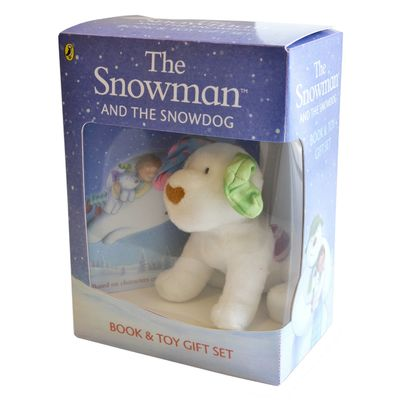 The Snowman: The Snowman and the Snowdog (Book and Toy Gift Set)