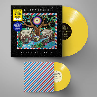 Khruangbin: Hasta El Cielo (Con Todo El Mundo in Dub): Limited Edition Individually Numbered Yellow Vinyl + 7