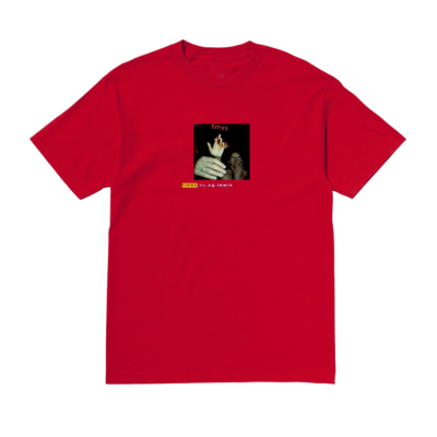 SG Lewis: SG Lewis Cigarette Red T-Shirt