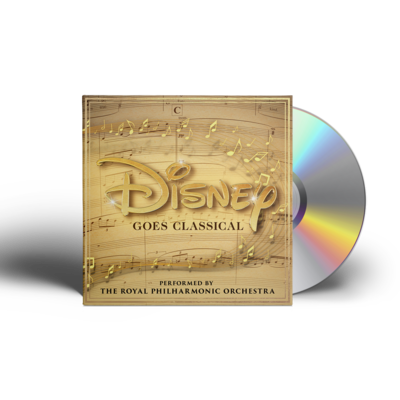The Royal Philharmonic Orchestra: Disney Goes Classical CD