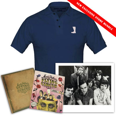 Monty Python: Monty Python Blue Polo Fan Bundle