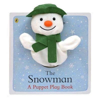 The Snowman: The Snowman: A Puppet Play Book (Board Book)