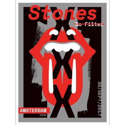 The Rolling Stones: Amsterdam Print