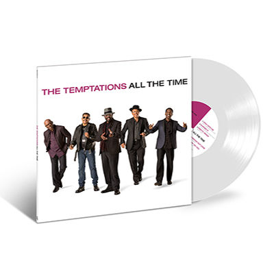 The Temptations: All The Time White - Coloured Vinyl