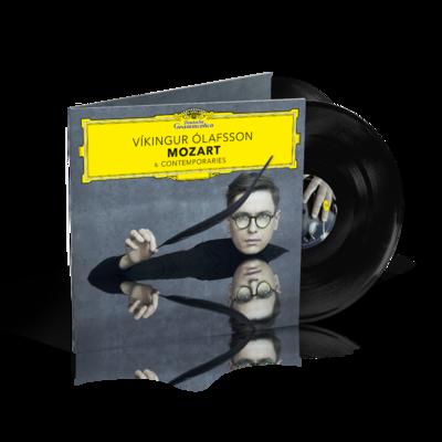 Vikingur Olafsson : Mozart & Contemporaries: Black Vinyl 2LP
