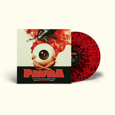 Various: Paura: Limited Edition Red + Black Splatter Vinyl 2LP