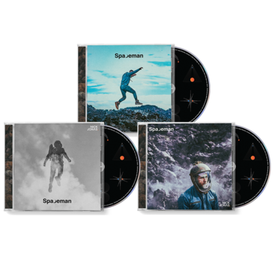 Nick Jonas: SIGNED: SPACEMAN: TRIPLE CD BUNDLE