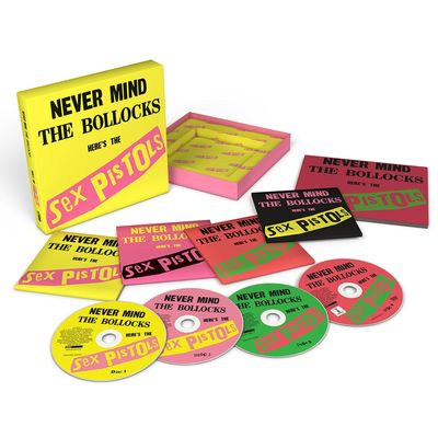 Sex Pistols: Never Mind The Bollocks: 40th Anniversary Deluxe Edition