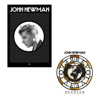 John Newman: Revolve Vinyl + Fan Poster Bundle