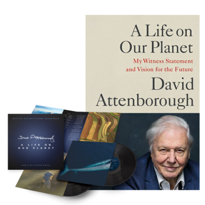 David Attenborough : A Life On Our Planet LP & Book Bundle