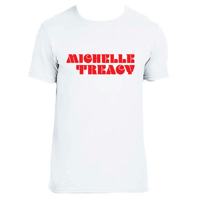 Michelle Treacy: Michelle Treacy - Logo Tee Small (White)