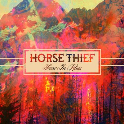 Horse Thief: Fear In Bliss: Blue Vinyl