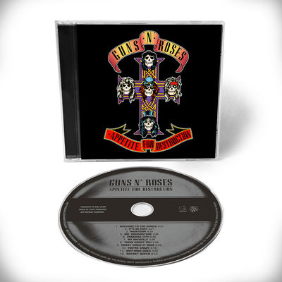 Guns N' Roses: Appetite For Destruction - 1CD Remaster