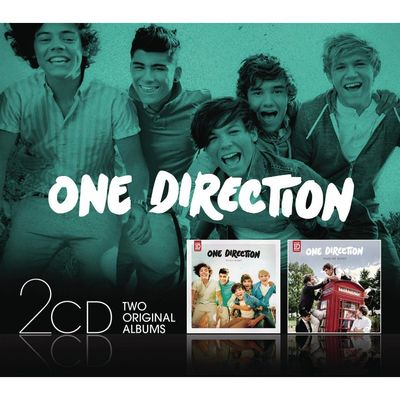 One Direction: Up All Night / Take Me Home - Double Pack CD Album