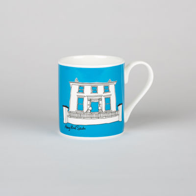 Abbey Road Studios: Abbey Road House Mug Blue