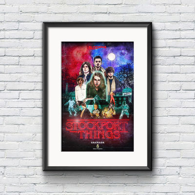 Blossoms: Stockport Things Poster