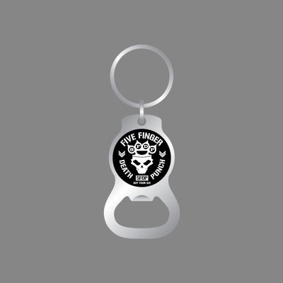 Five Finger Death Punch: Bottle Opener Key Chain