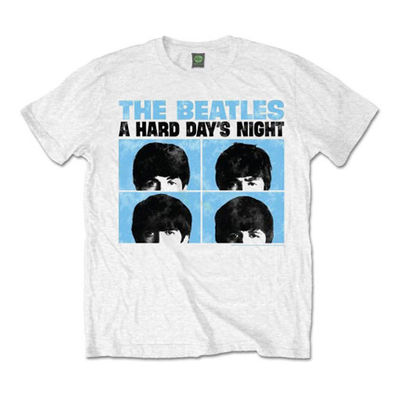 The Beatles: Hard Days Night Pastel Mens Tee