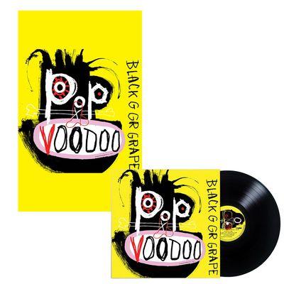 Black Grape: Pop Voodoo Vinyl & Signed Poster Bundle