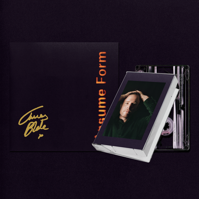 James Blake: Assume Form Cassette + Signed Artcard