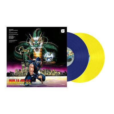 Various Artists: Ninja Gaiden: The Definitive Soundtrack Volume 2 Limited Edition Blue & Yellow Coloured Vinyl LP