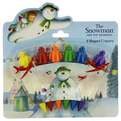 The Snowman: The Snowman Shaped Crayons
