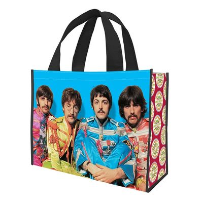 The Beatles: Sgt Peppers Large Recycled Shopper Tote