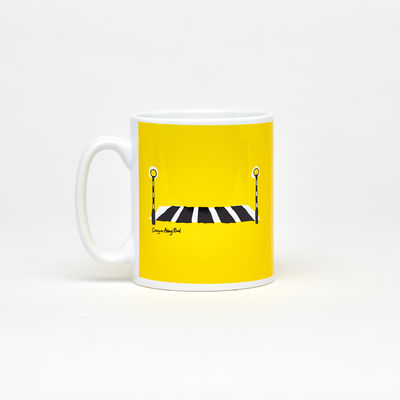 Abbey Road Studios: Abbey Road Crossing Mug Yellow