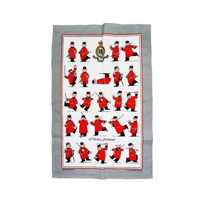 Colin Thackery : Official Royal Hospital Chelsea Tea Towel