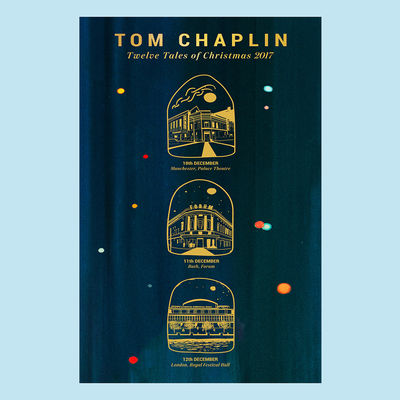 Tom Chaplin: Twelve Tales of Christmas 2017 Tour Poster